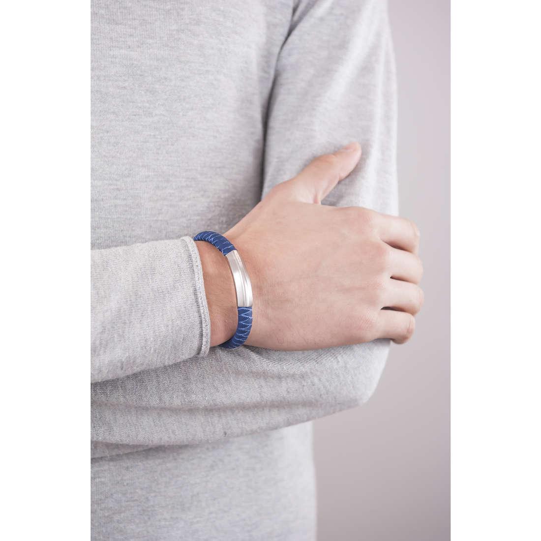 Breil bracelets Thorn man TJ1763 indosso