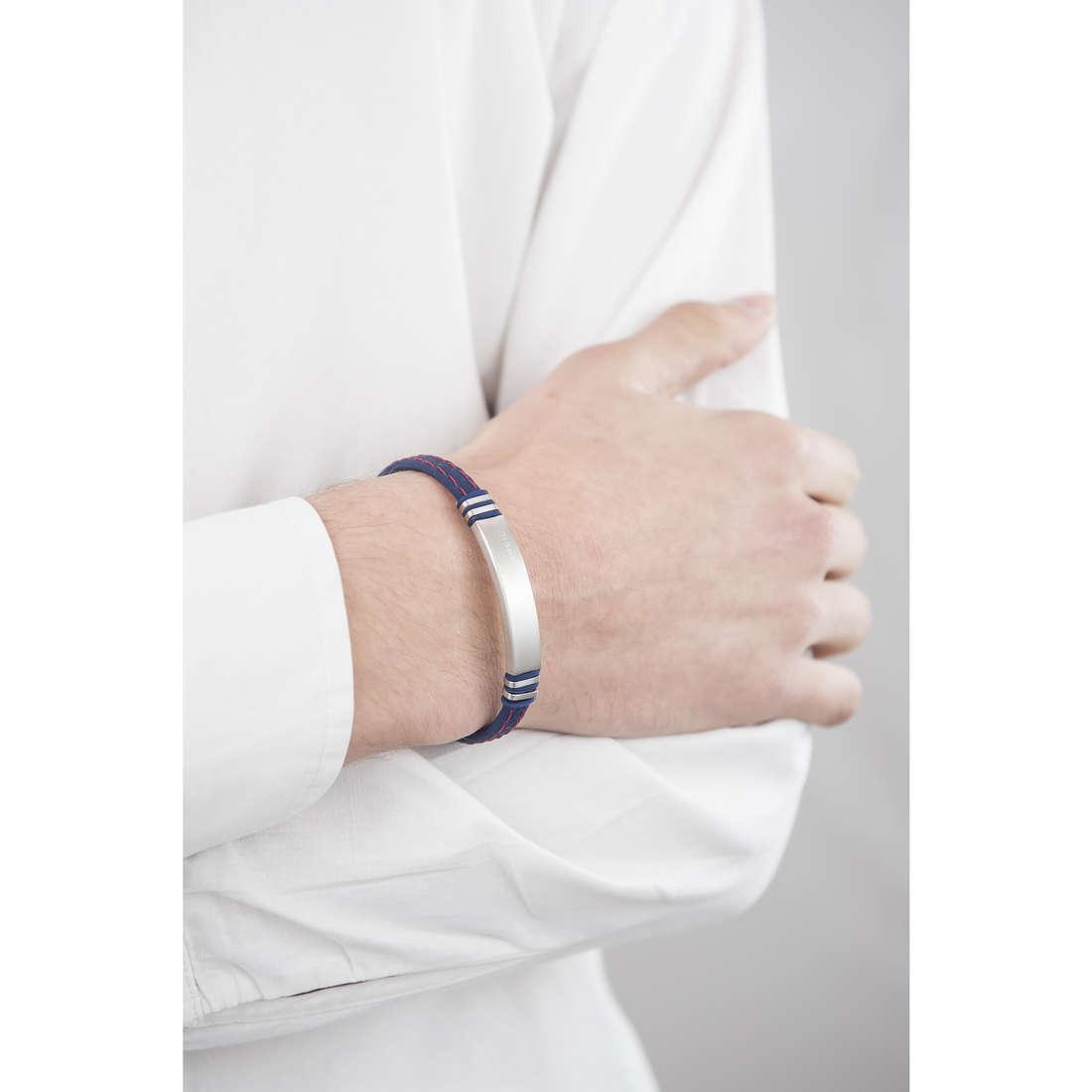 Breil bracelets man TJ1975 indosso
