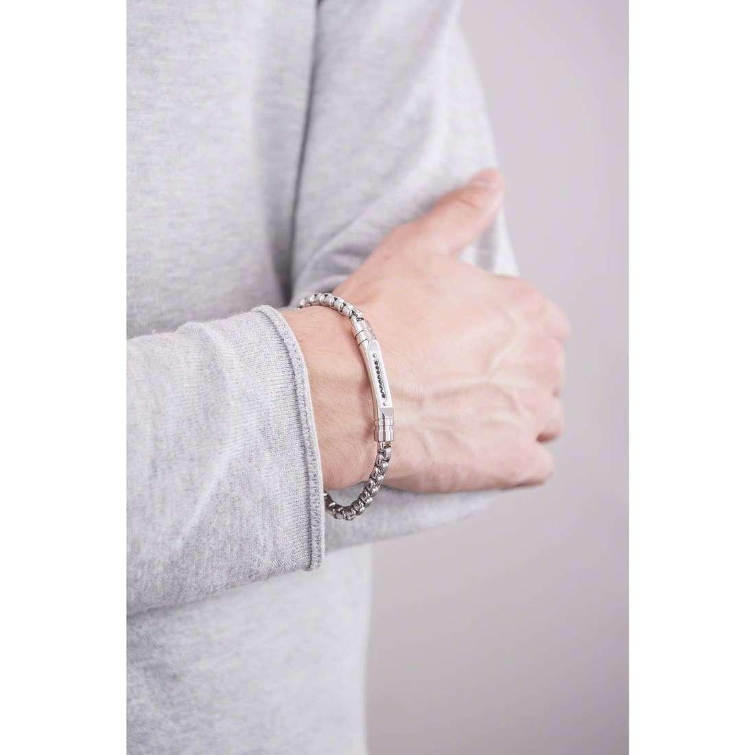Brosway bracelets Cheyenne man BCY24 indosso