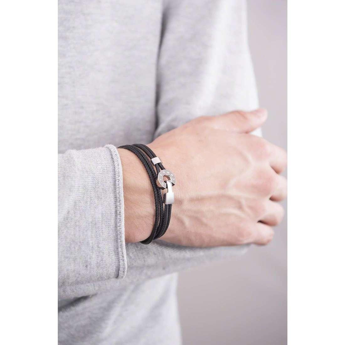 Brosway bracelets Dakota man BDT01 indosso