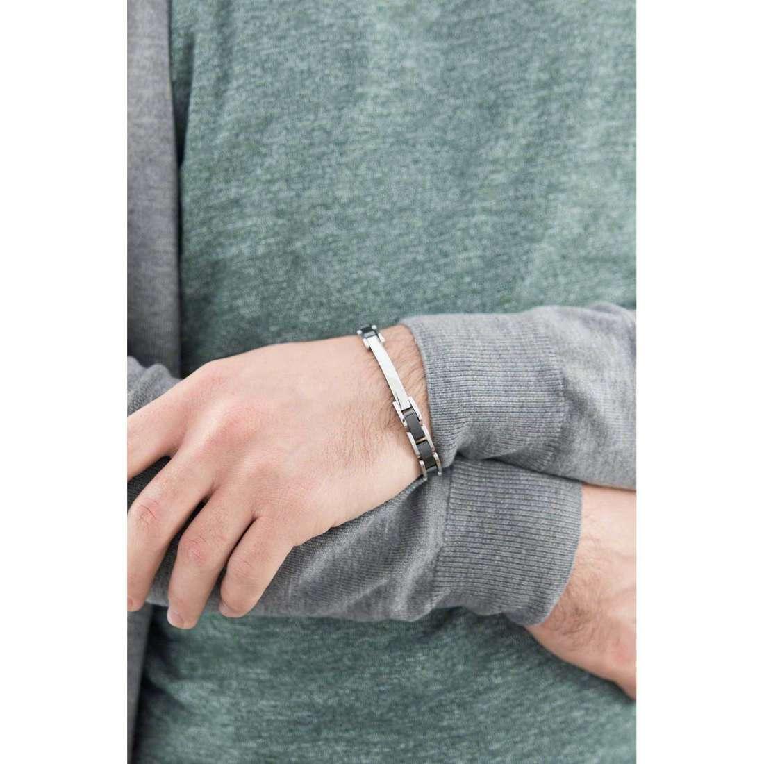 Brosway bracelets Elegance man BEG05 indosso
