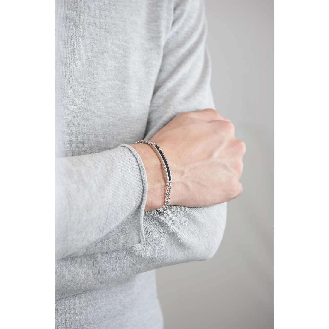 Brosway bracelets Life man BLF11 indosso