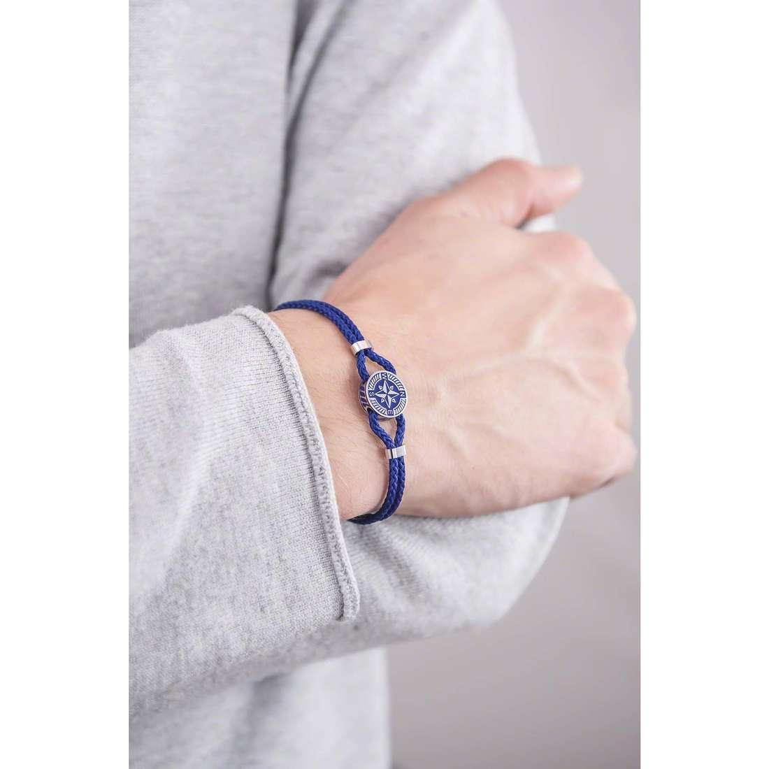 Brosway bracelets Nautilus man BNU11 indosso