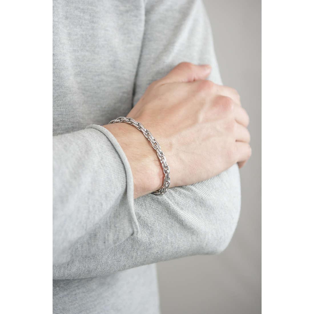 Brosway bracelets Outback man BUT15A indosso
