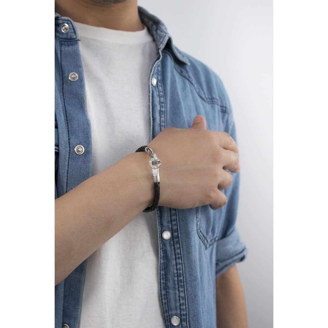 Brosway bracelets Tail man BTI04 indosso