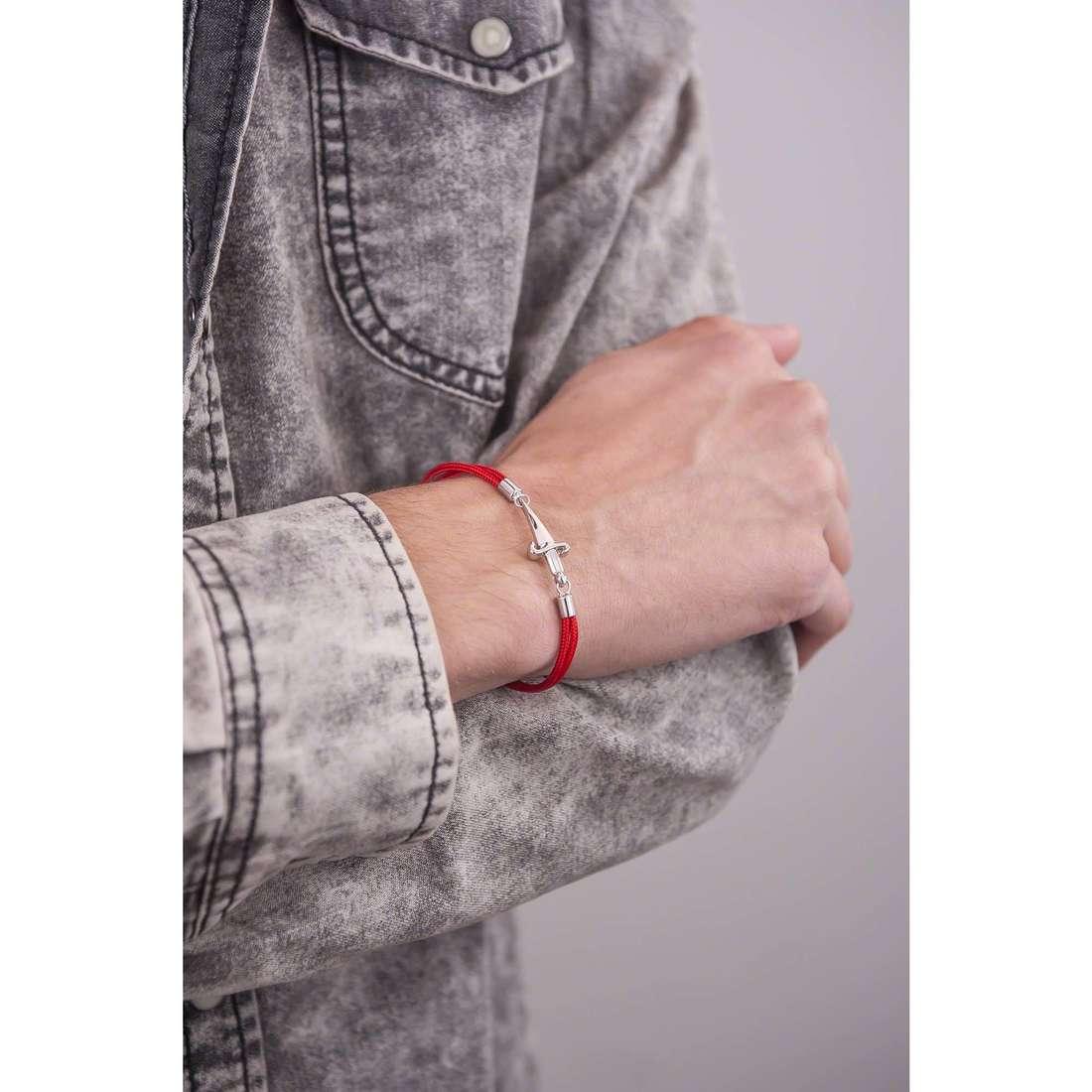 Cesare Paciotti bracelets man JPBR1048B indosso