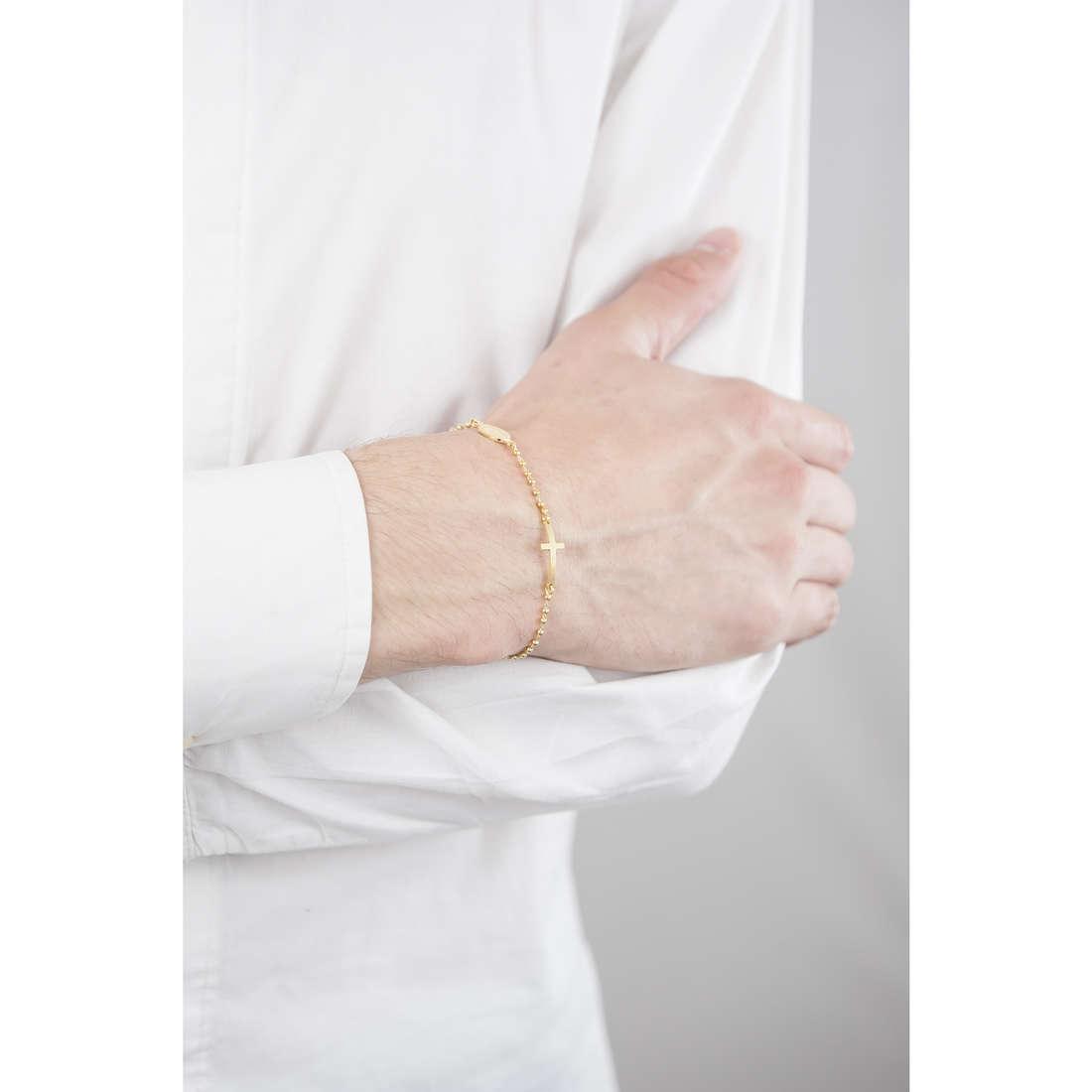 Cesare Paciotti bracelets man JPBR1249G indosso
