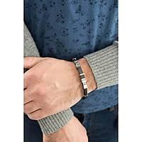 bracelet man jewellery Comete Acciaio UBR 395
