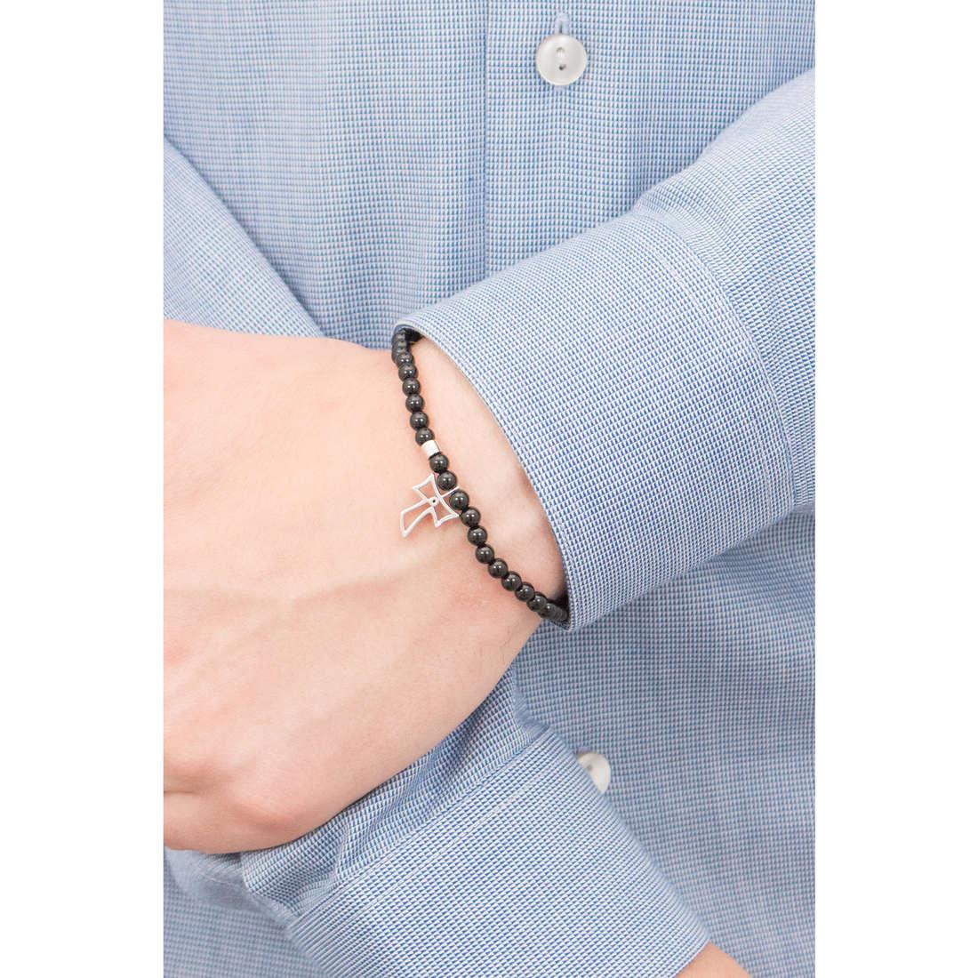 Comete bracelets Holy man UBR 586 indosso
