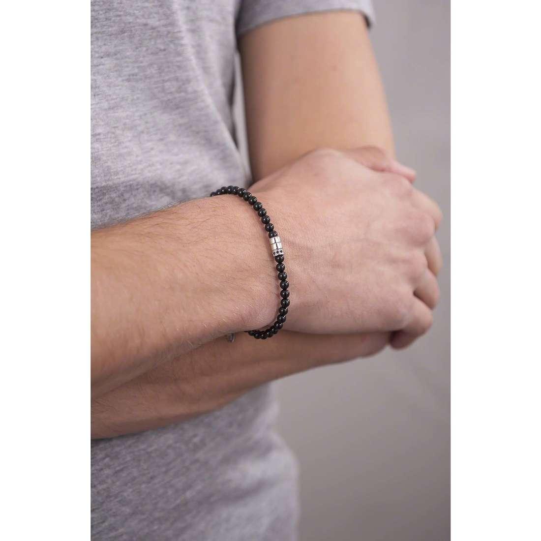 Comete bracelets Dandy man UBR 748 indosso