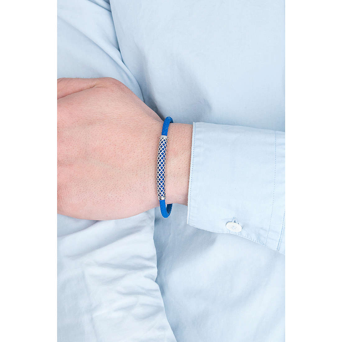 Comete bracelets Net man UBR 620 photo wearing