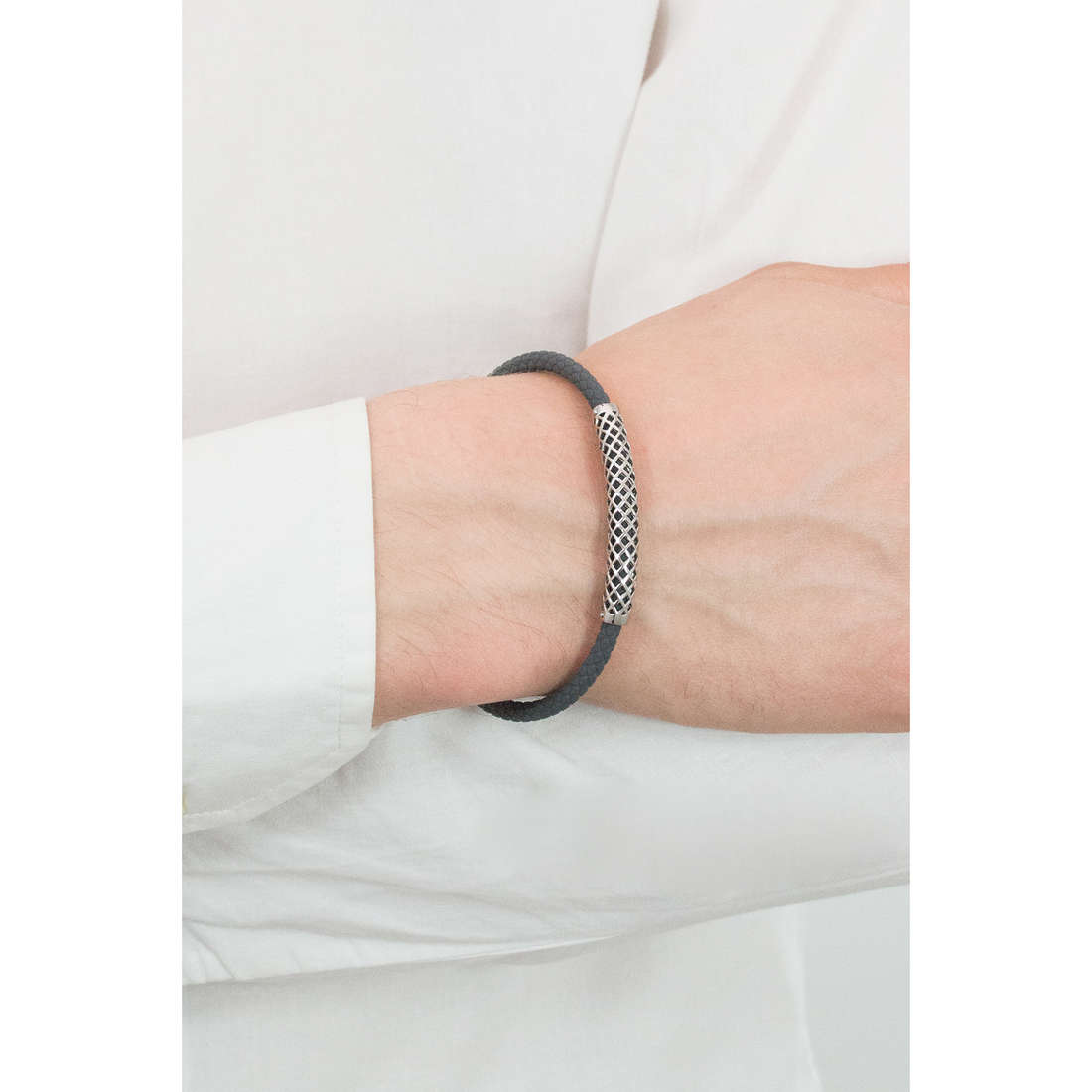 Comete bracelets Net man UBR 622 photo wearing