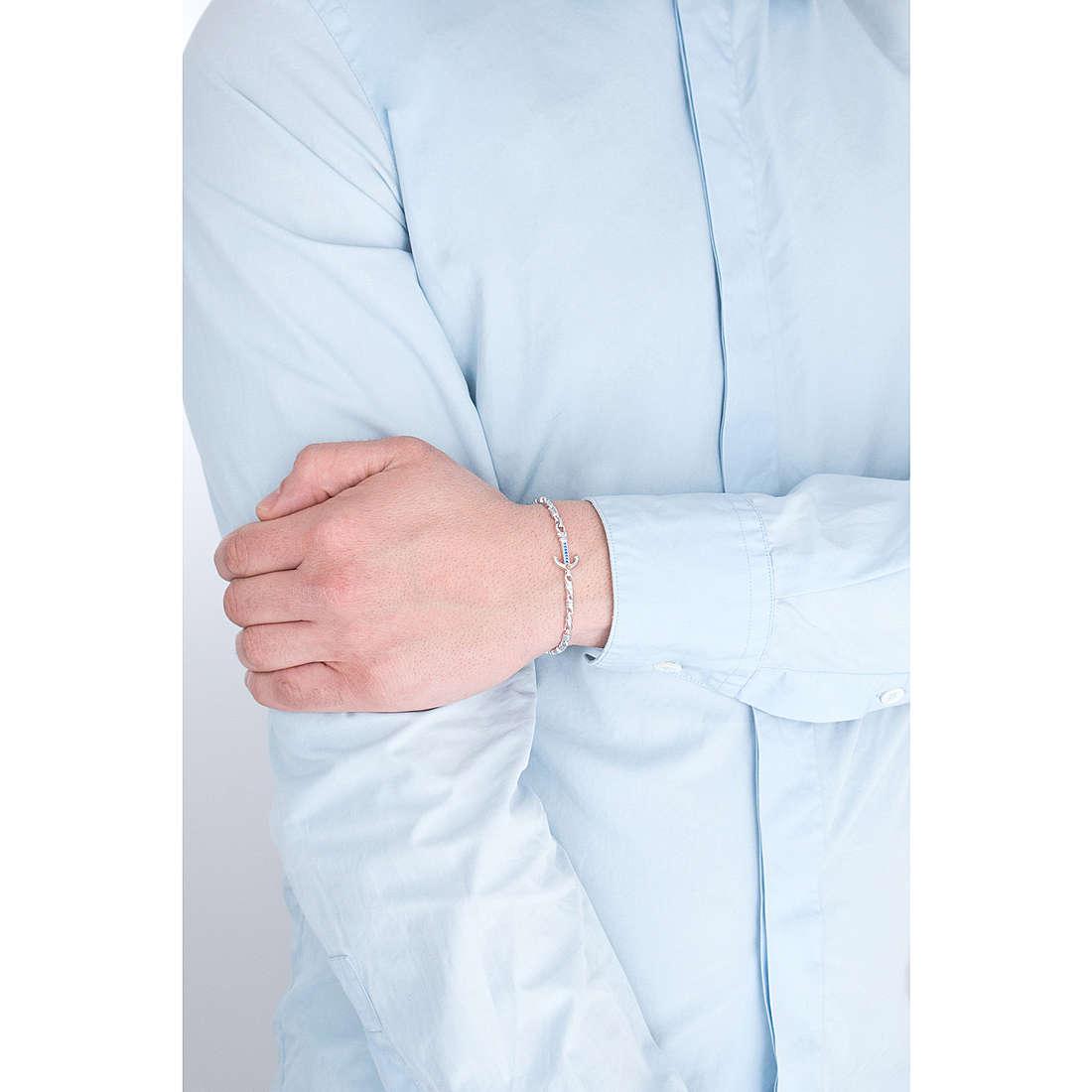 Comete bracelets Passioni man UBR 802 photo wearing