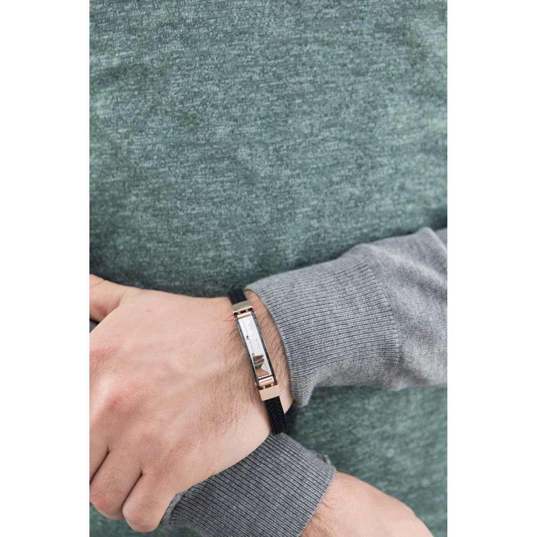 Comete bracelets Traguardi man UBR 684 indosso