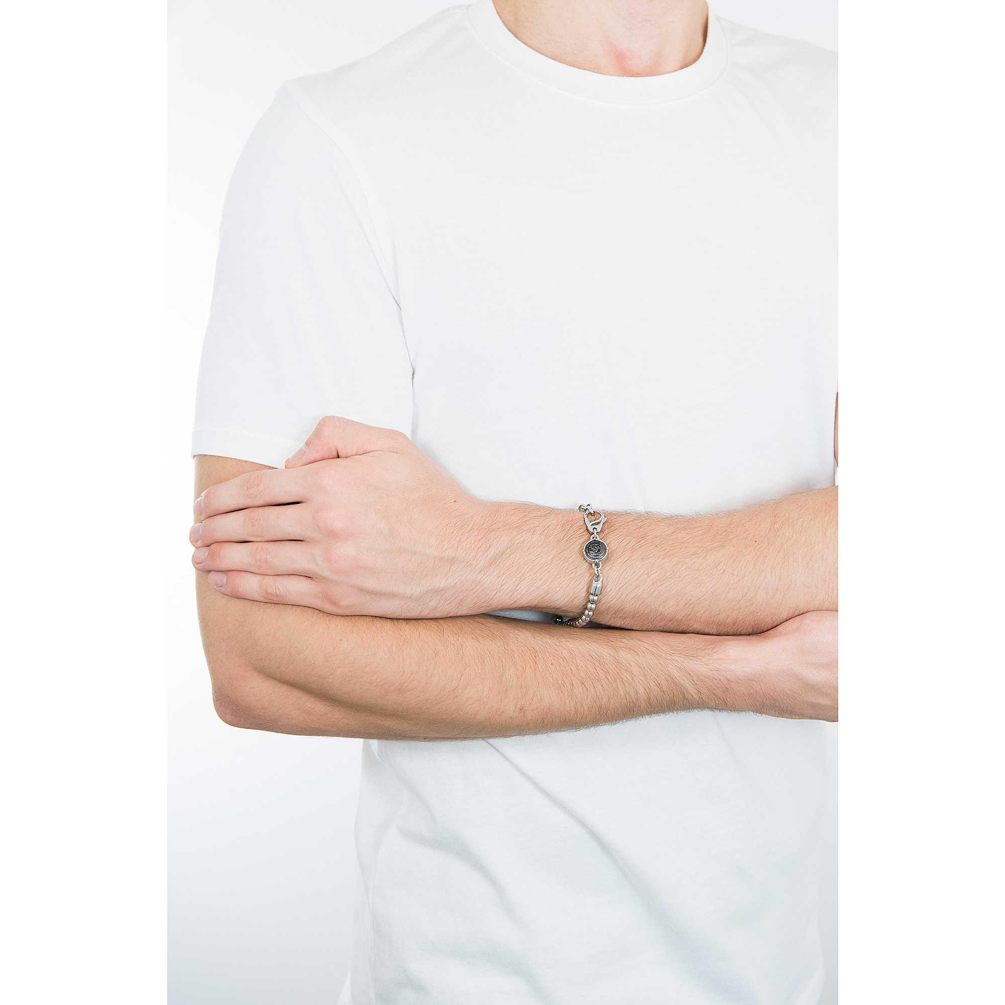 bracelet man jewellery Diesel Beads DX0930040. zoom. Diesel bracelets Beads  man DX0930040 photo wearing. zoom 167c503d1321