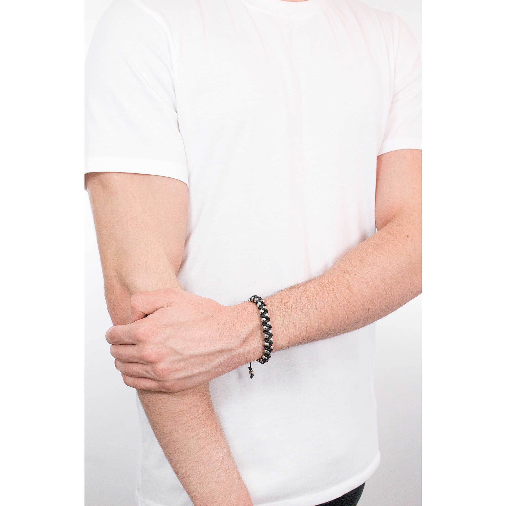 bracelet man jewellery Diesel Stackables DX1109040. zoom. Diesel bracelets  Stackables man DX1109040 photo wearing. zoom 7a0a36fa2bda