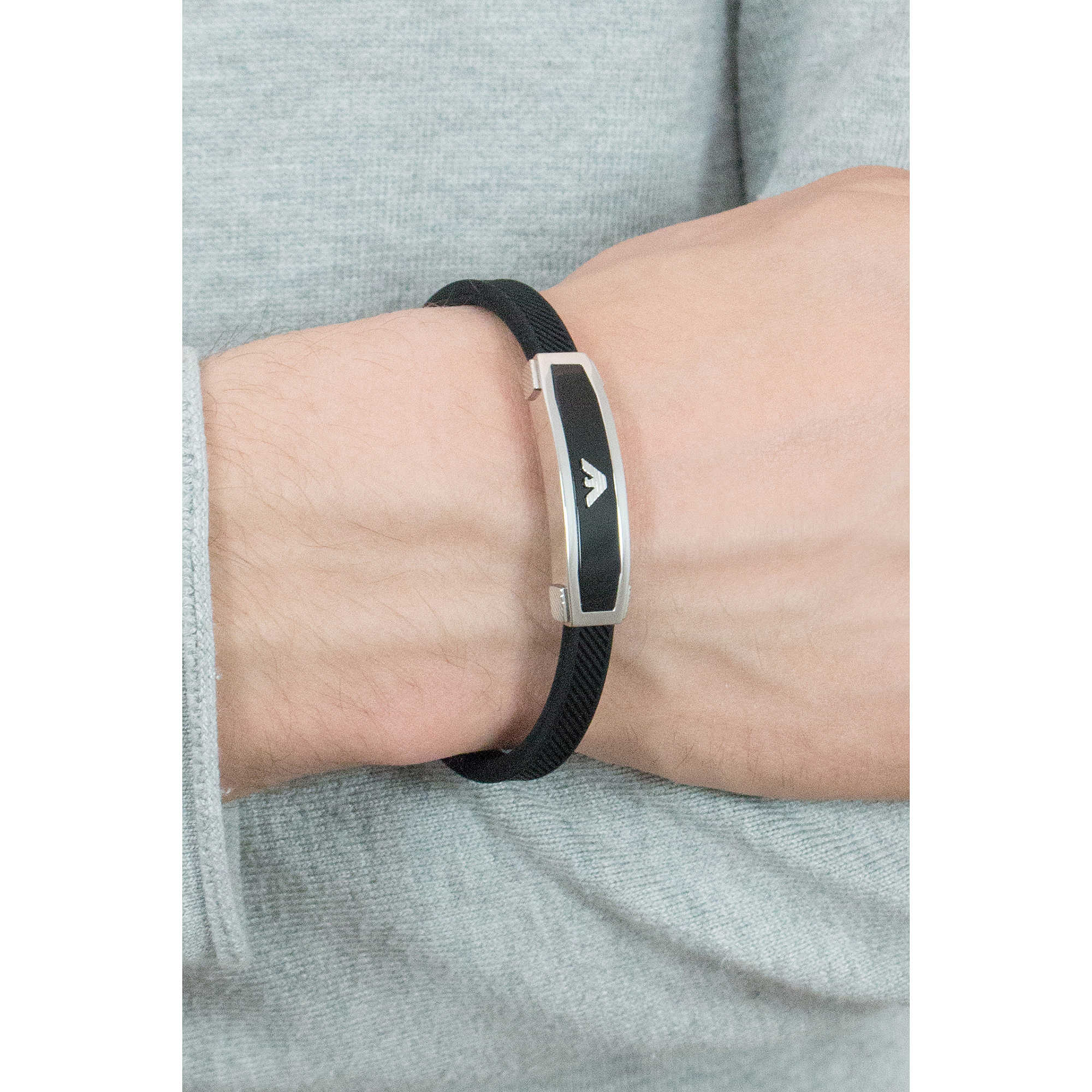zoom. package bracelets Emporio Armani EGS1543040. zoom. bracelet man  jewellery Emporio Armani EGS1543040 68ac651bf50