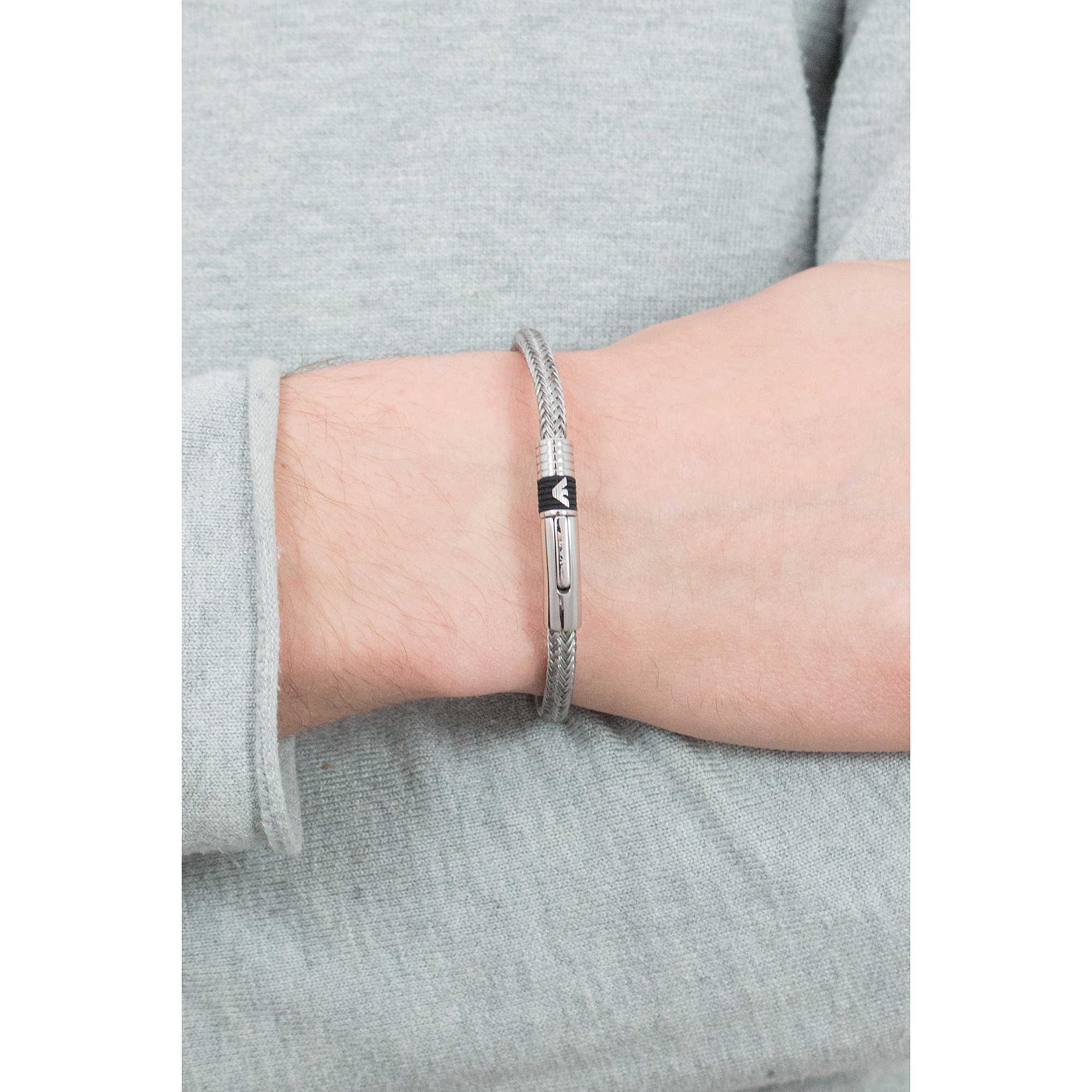 zoom. package bracelets Emporio Armani EGS162304019. zoom. bracelet man  jewellery Emporio Armani EGS162304019 a4e4ccc5635
