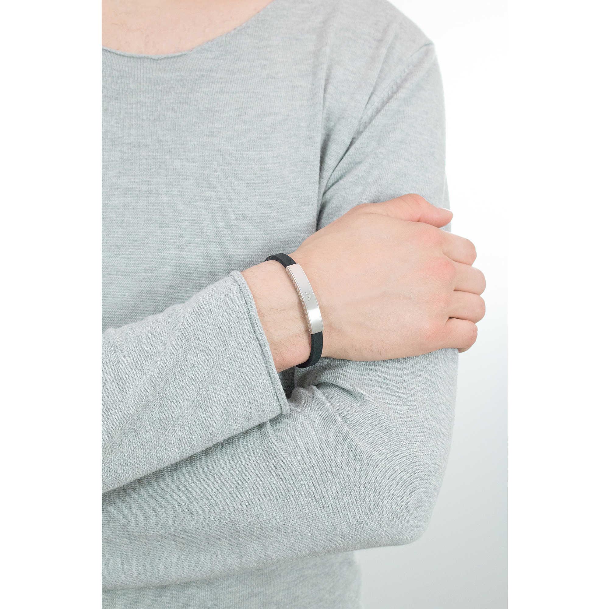 bracelet man jewellery Emporio Armani EGS1882040. zoom. Emporio Armani  bracelets man EGS1882040 photo wearing. zoom 6a0e3e8e176