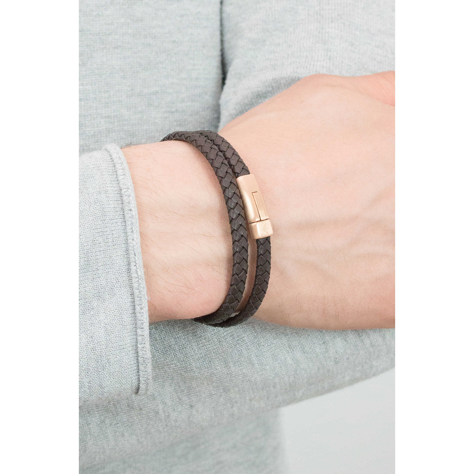 zoom. package bracelets Emporio Armani EGS2175221. zoom. bracelet man  jewellery Emporio Armani Signature EGS2175221 4f39b246126