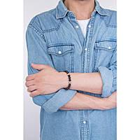 bracelet man jewellery Gerba Stone BLACK TIGER
