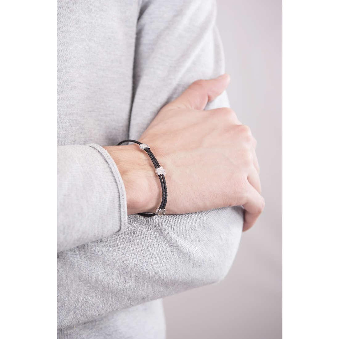 Giannotti bracelets Angeli man GIA272N indosso