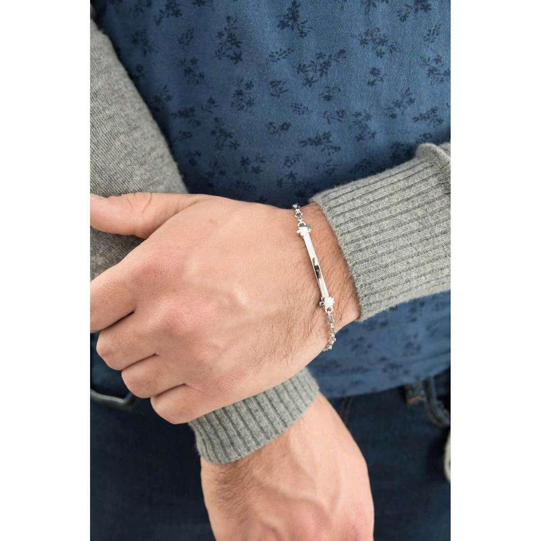 Giannotti bracelets man GIA264 indosso