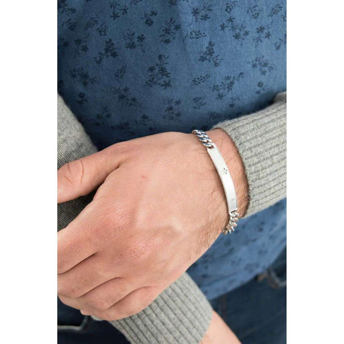 Giannotti bracelets man GIA281 indosso