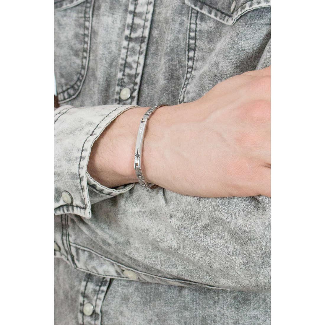 Luca Barra bracelets Elegance man LBBA776 photo wearing