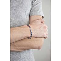 bracelet man jewellery Luca Barra LBBA448