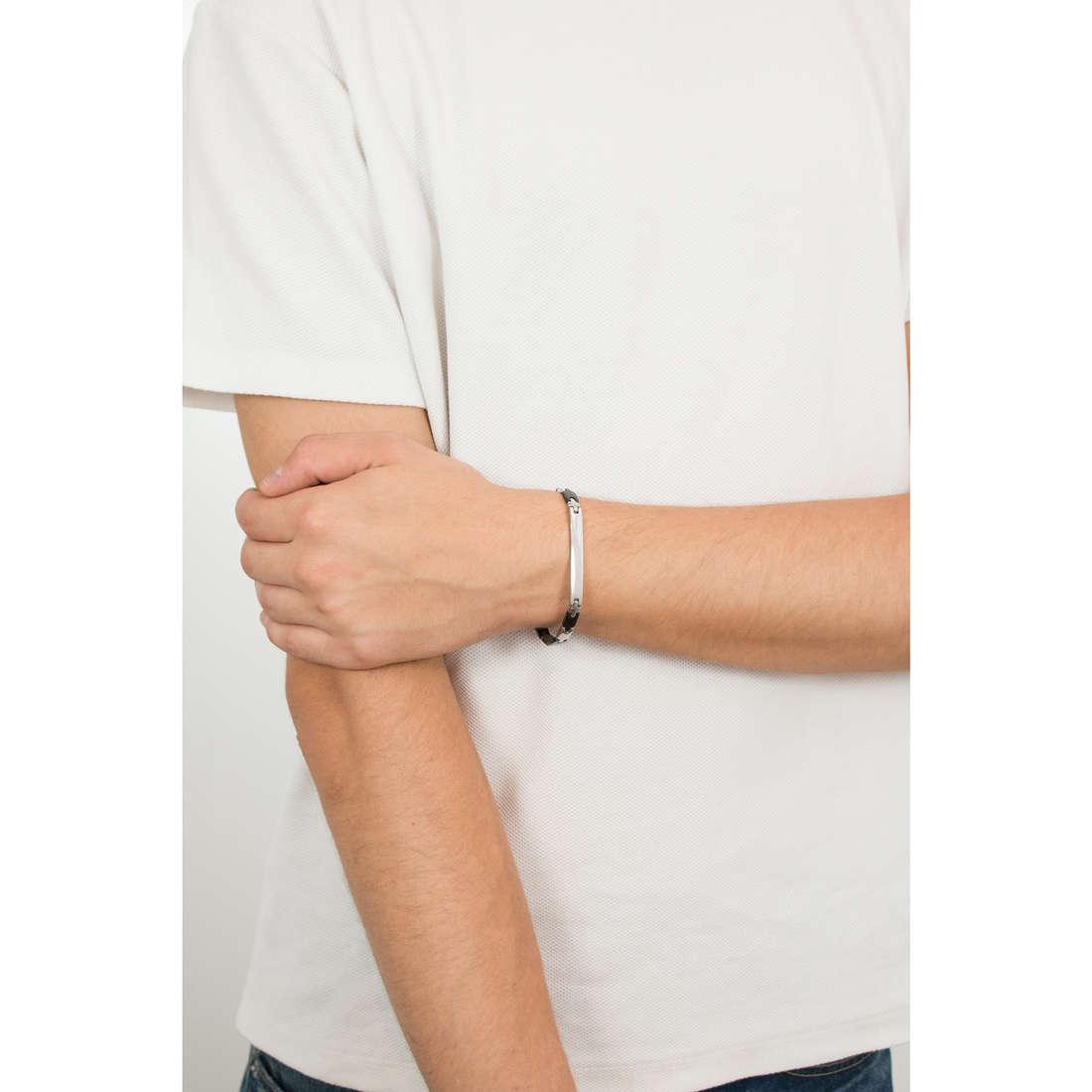 Luca Barra bracelets man LBBA506 photo wearing