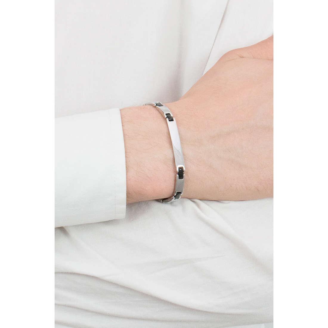 Luca Barra bracelets man LBBA532 photo wearing