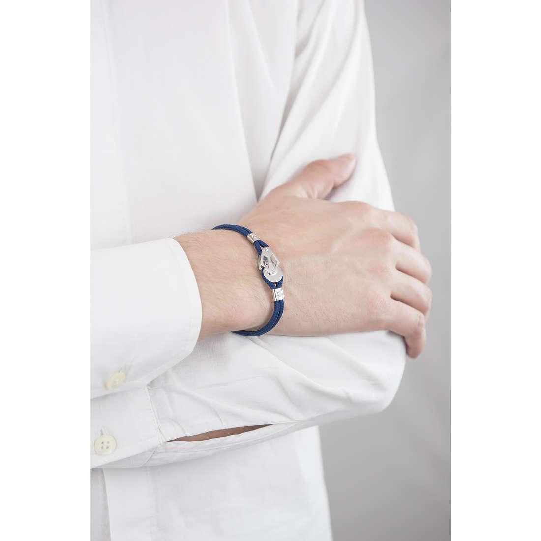 Luca Barra bracelets man LBBA567 indosso