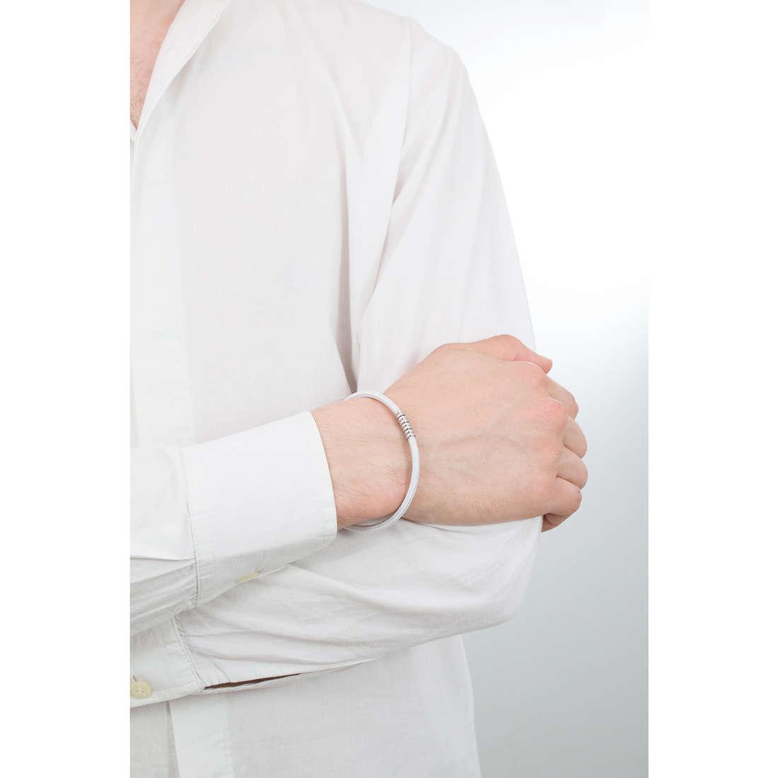Luca Barra bracelets man LBBA692 indosso