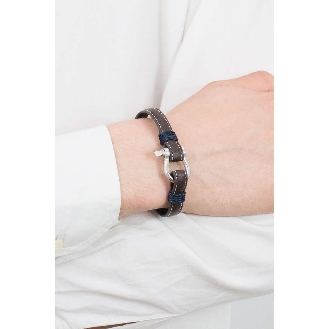 Luca Barra bracelets Sailor man LBBA819 indosso