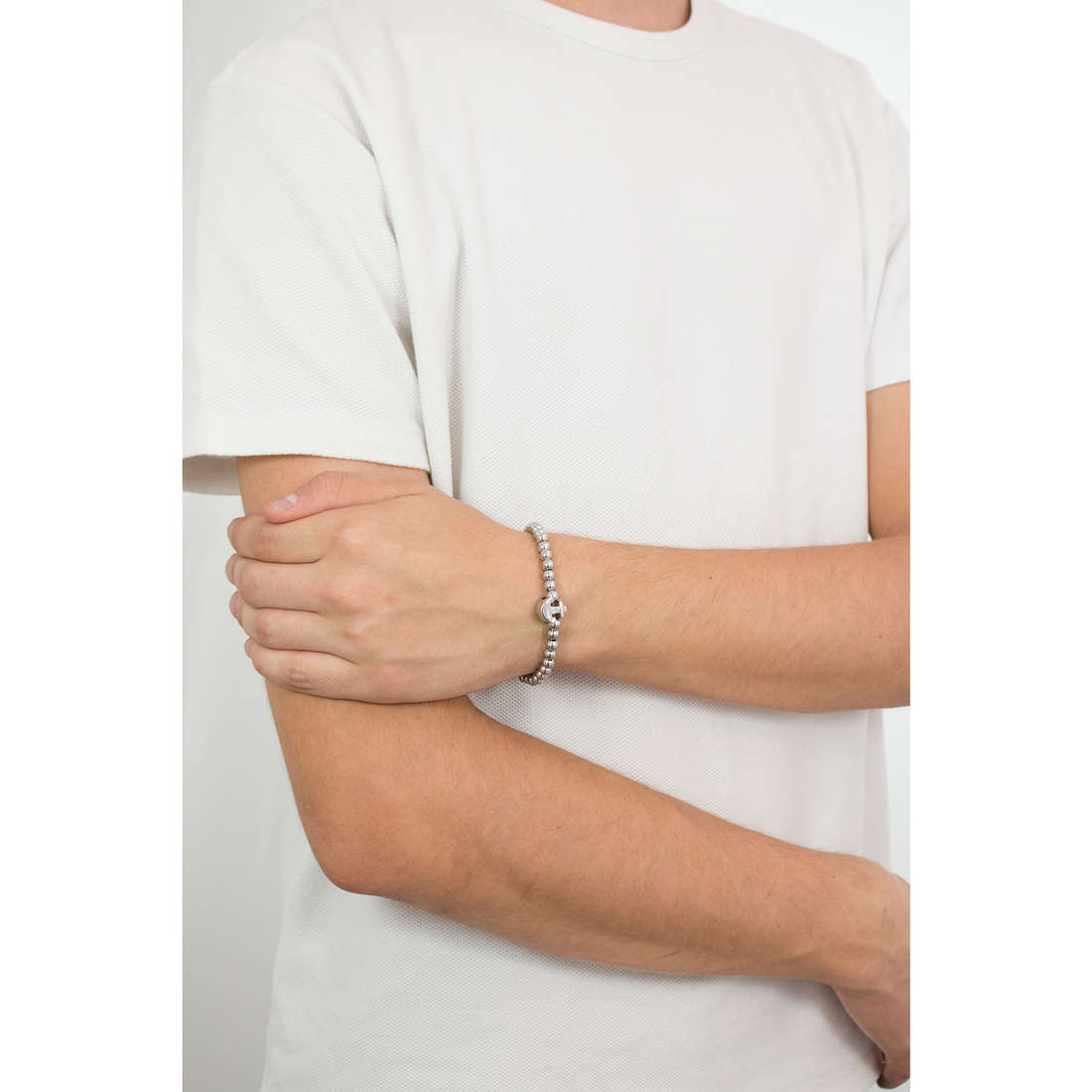 Luca Barra bracelets Sailor man LBBA804 photo wearing