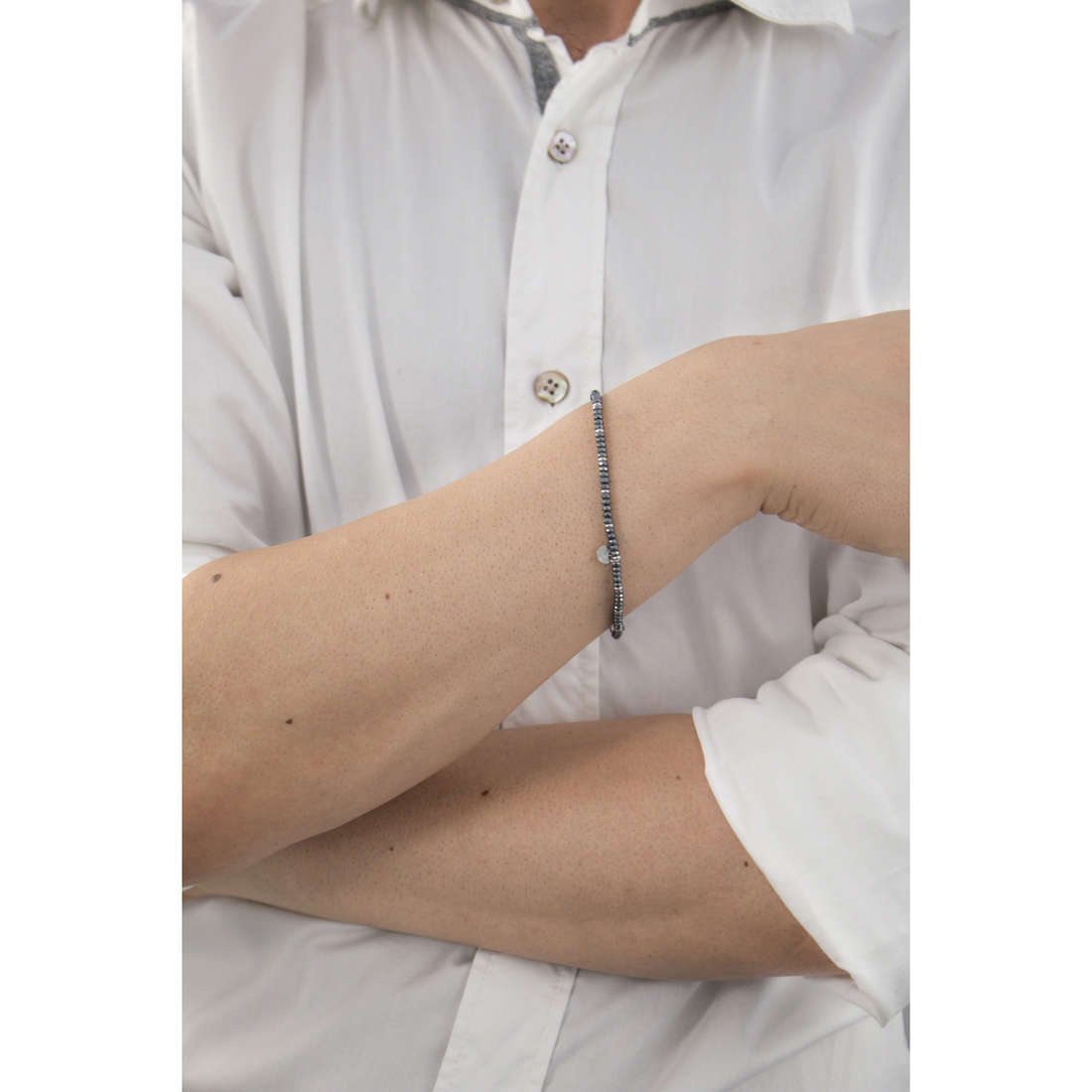 Marlù bracelets Man Class man 4BR1687 indosso