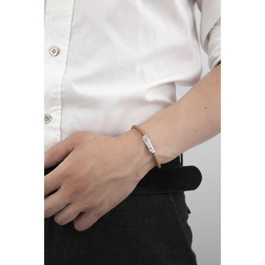 Marlù bracelets Man Class man 4BR1710MC indosso