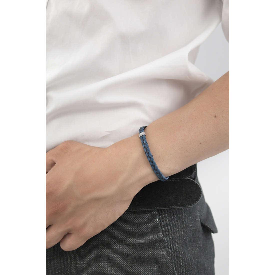 Marlù bracelets Trendy man 4BR1716B indosso