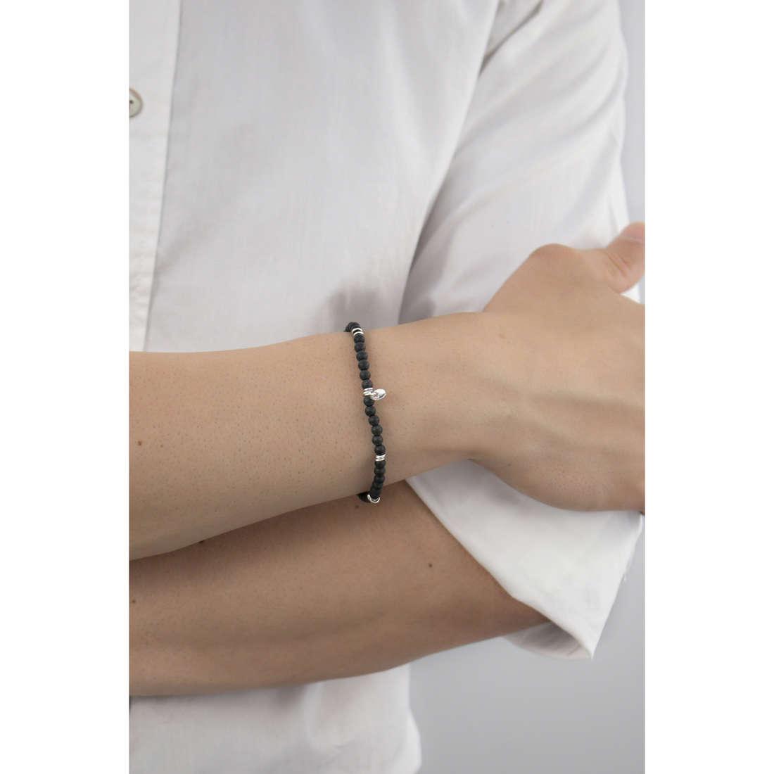 Marlù bracelets Trendy man 4BR1690N indosso