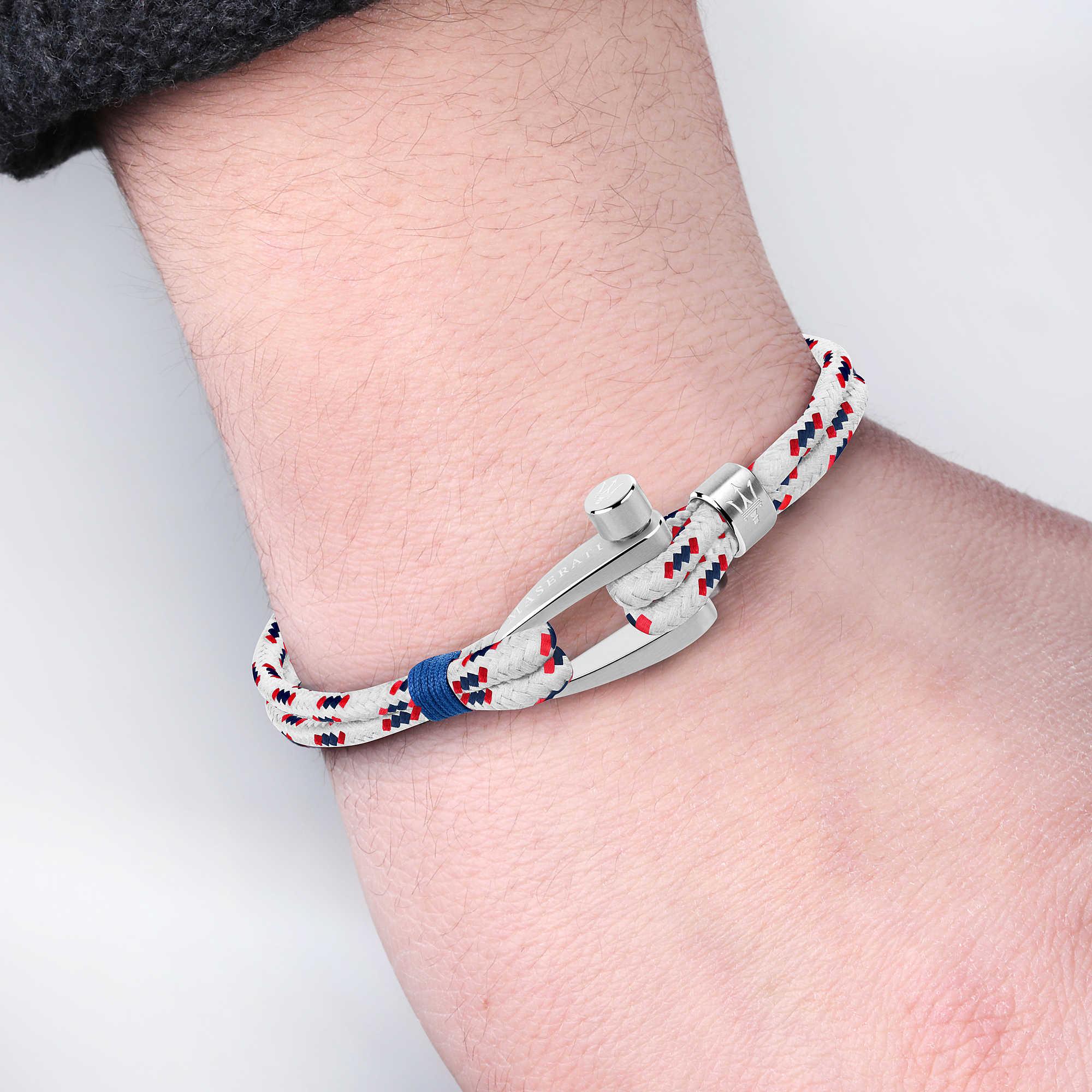 bracelet man jewellery Maserati Maserati J JM218AMG02 bracelets Maserati