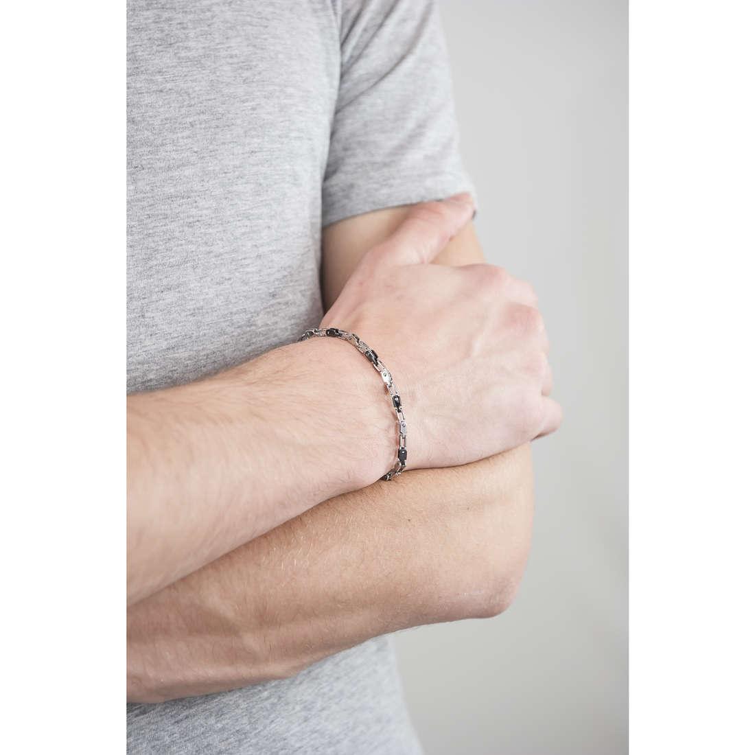 Morellato bracelets Alfa man SAEV08 indosso
