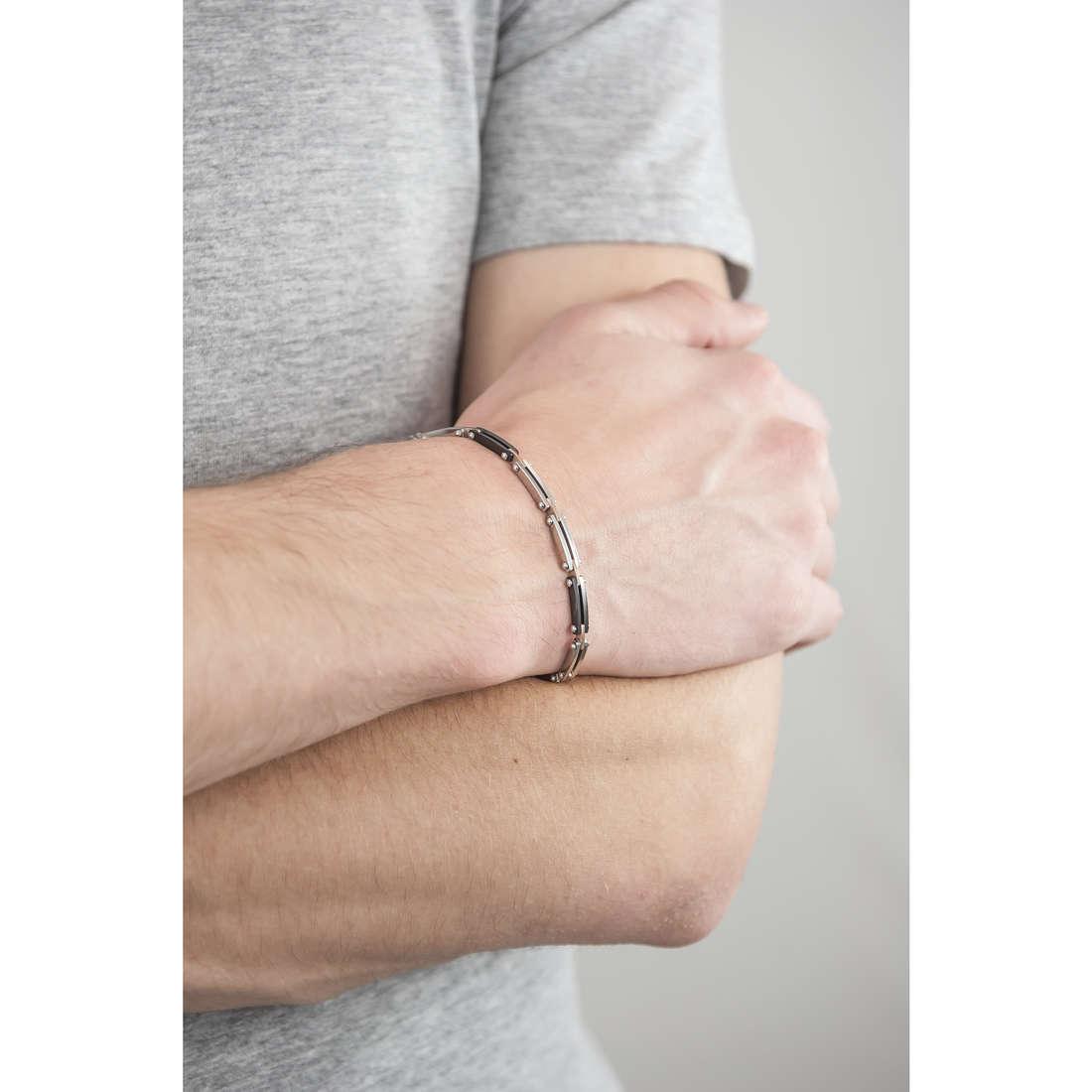 Morellato bracelets Alfa man SAEV27 indosso