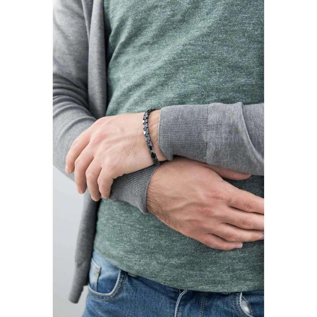 Morellato bracelets Boules man SACU05 indosso