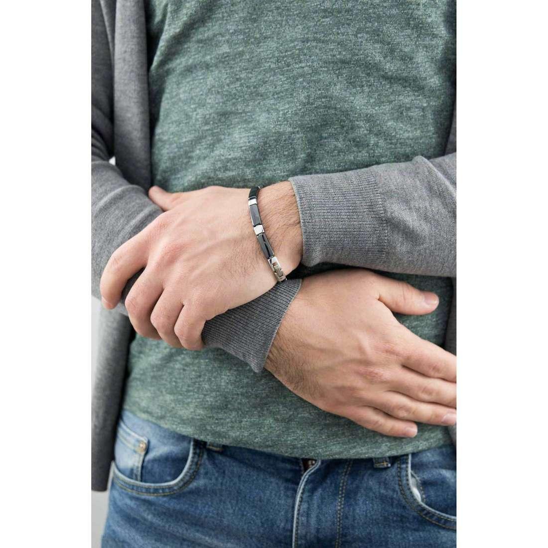 Morellato bracelets Ceramic man SAEV05 indosso