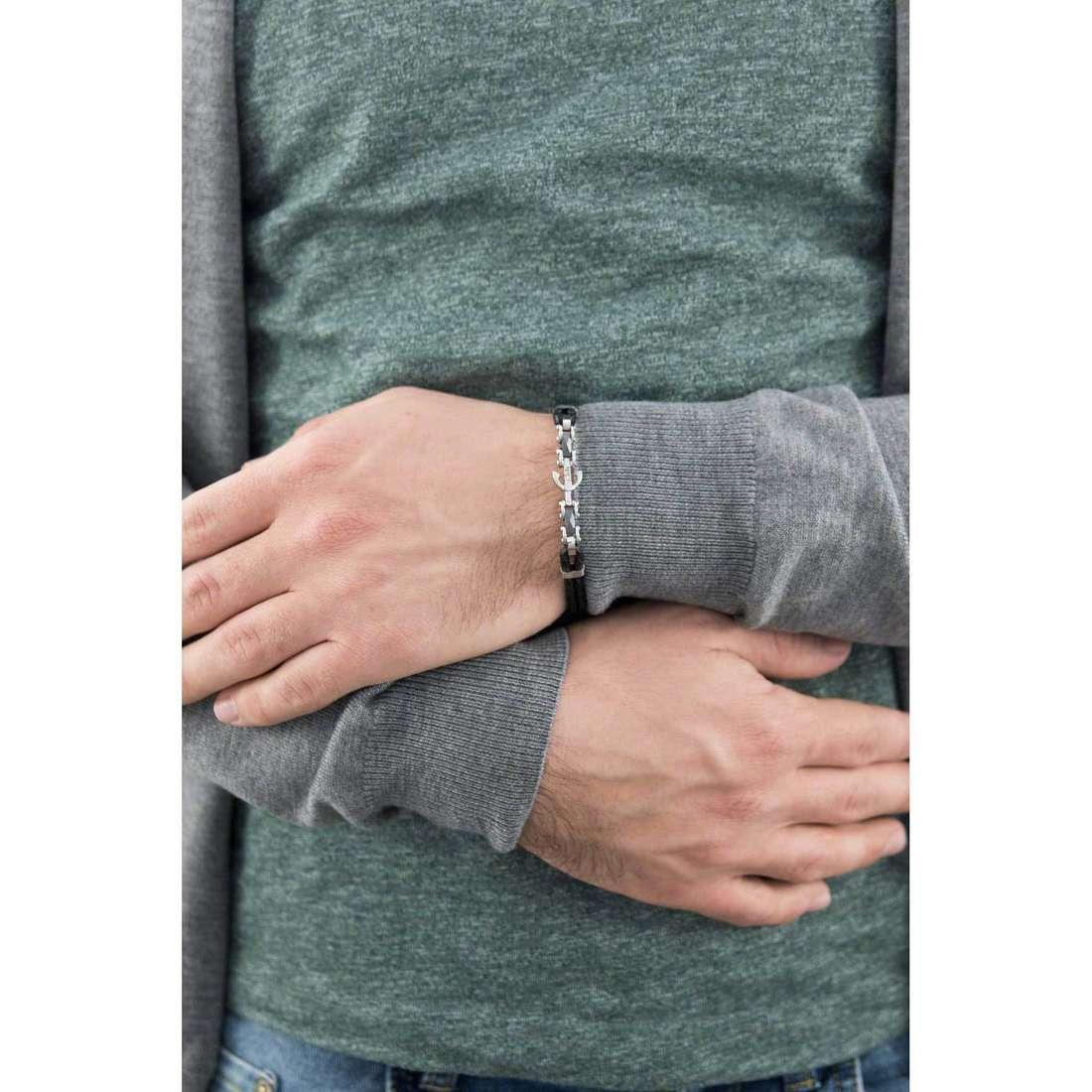 Morellato bracelets Ceramic man SAEV30 indosso