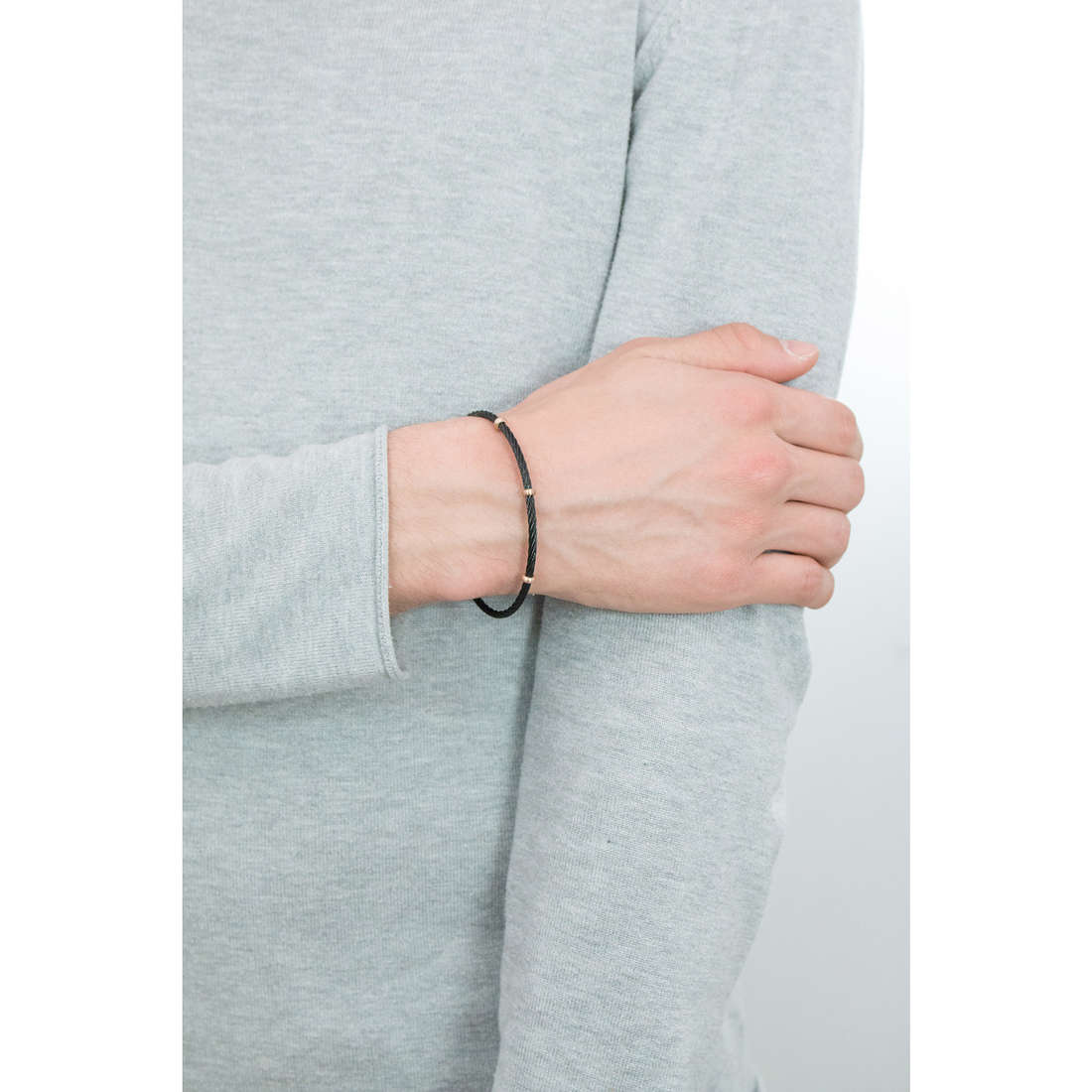 Morellato bracelets Cross man SAHU07 indosso