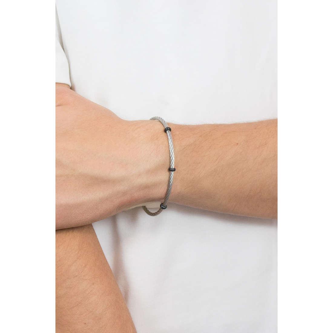 Morellato bracelets Cross man SAHU08 photo wearing