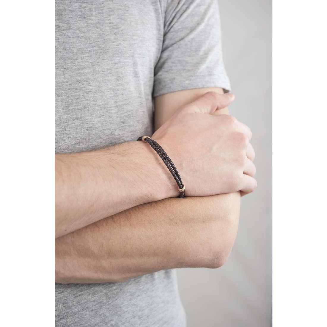 Morellato bracelets Ocean man SABR03 indosso