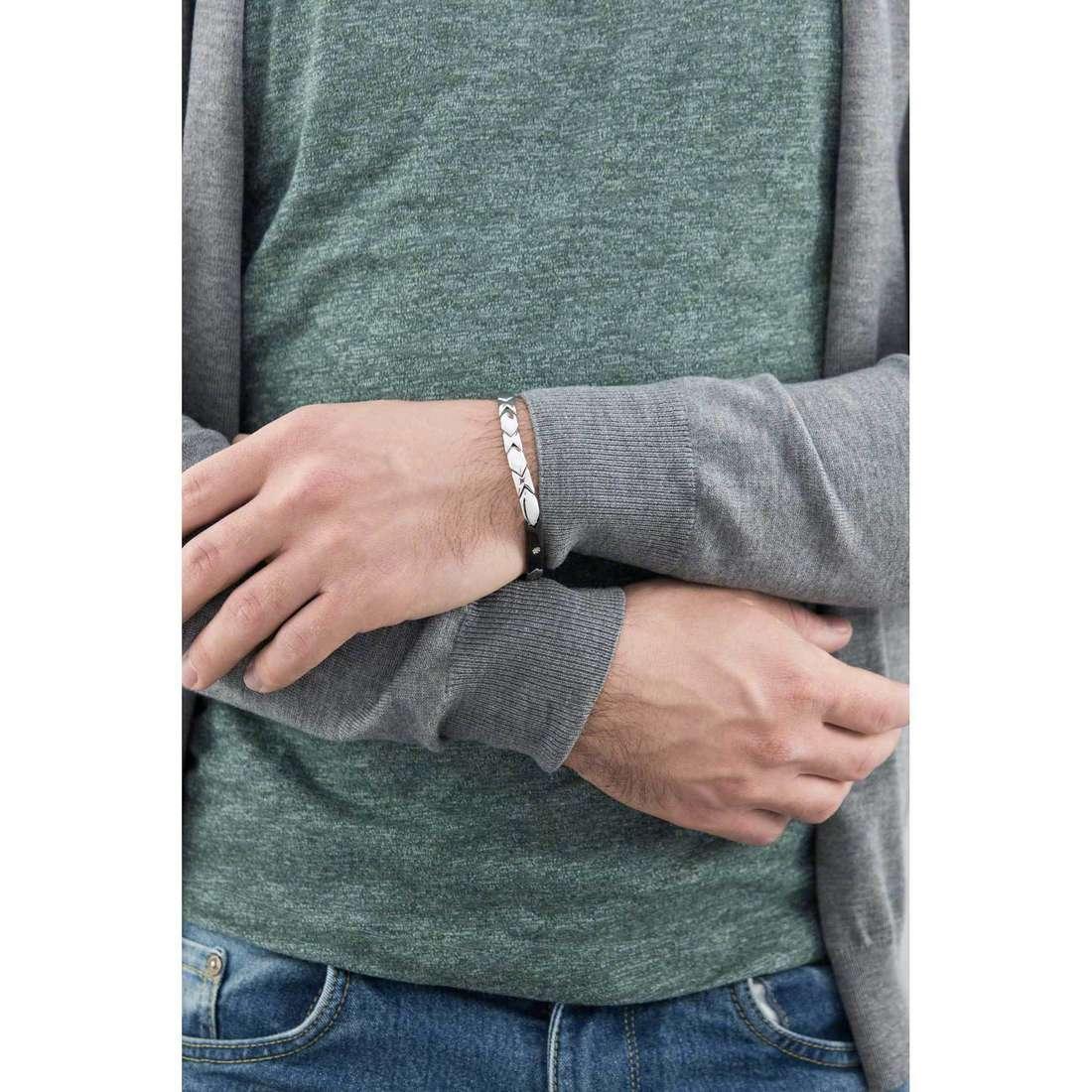 Morellato bracelets man SKR19 indosso